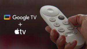 اپلیکیشن Apple TV در گوگل تی وی