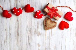 تزیینات ساده برای ولنتاین