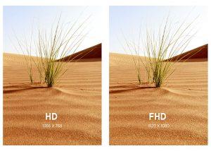 کیفیت Full HD در تلویزیون های سام الکترونیک