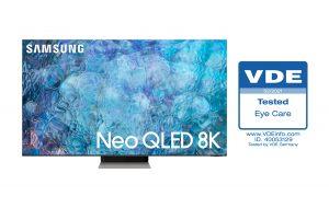 تاییدیههایی که برای نخستین بار تلویزیون Neo QLED سامسونگ دریافت کرد