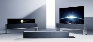 تلویزیون رول شونده OLED ال جی