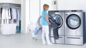 ماشین لباسشویی و خشک کن جدید میله