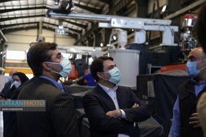 افتتاح خط تولید ماشین لباسشویی سام