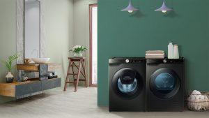 ماشین لباسشویی و خشک کن هوشمند جدید سامسونگ