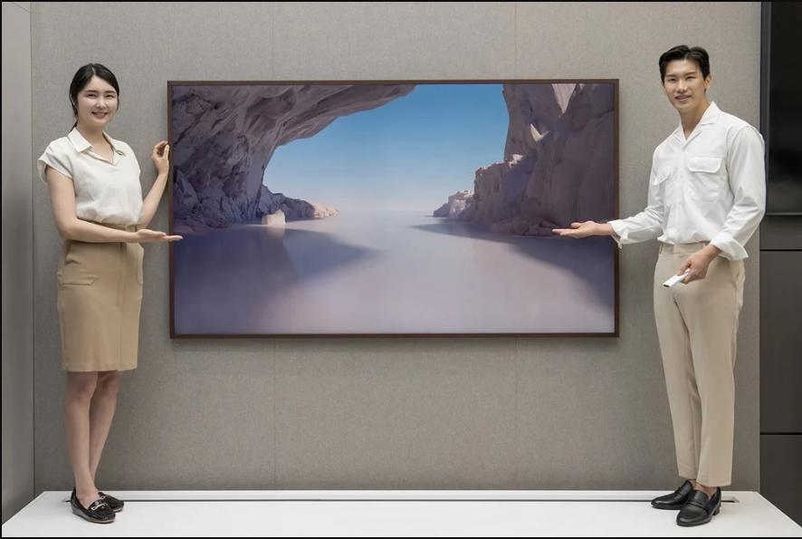 تلویزیون 85 اینچ فریم سامسونگ
