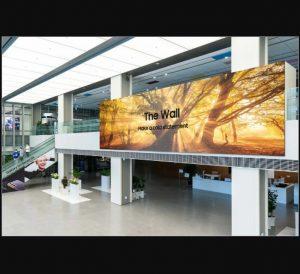 تلویزیون دیواری microLED سامسونگ