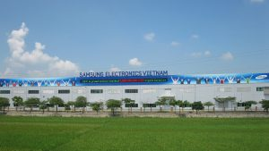 تولید کارخانه لوازم خانگی سامسونگ در ویتنام