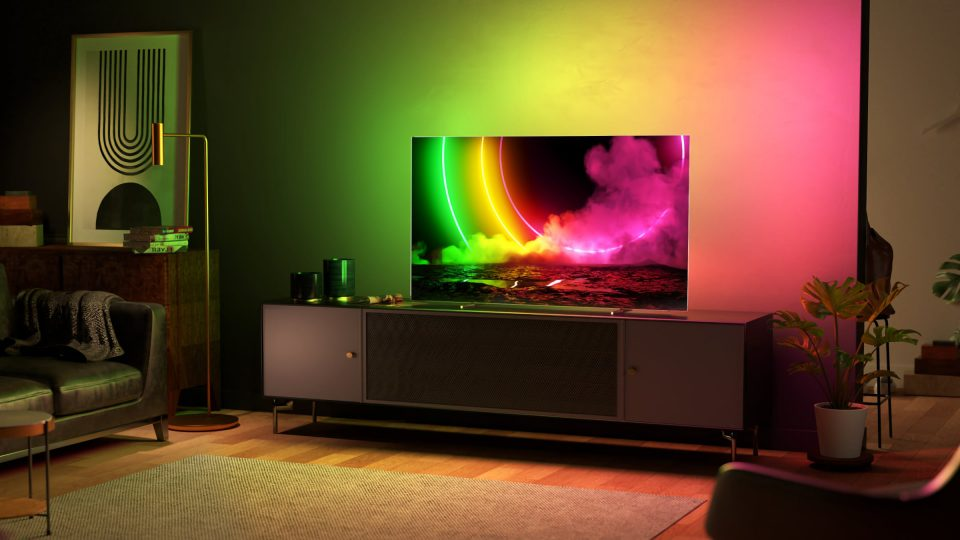 Philips launches its first 77 OLED TV